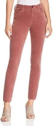 J Brand Maria Skinny Velvet Jeans in Warm Sable
