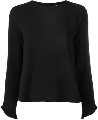 Ganni 3/4 sleeve blouse