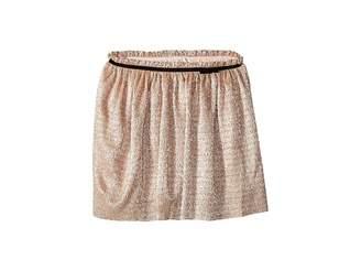 Kate Spade Kids Metallic Knit Skirt (Big Kids)