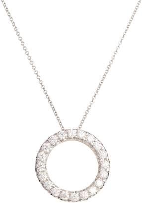 Bony Levy 20th Anniversary Diamond Circle Pendant Necklace