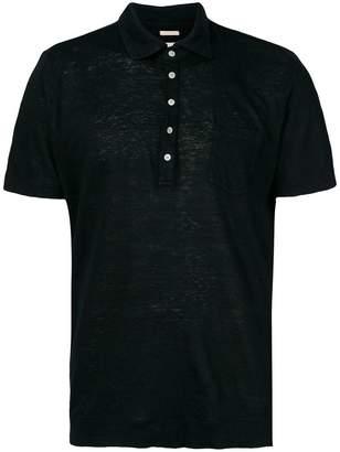 Massimo Alba patch pocket polo shirt