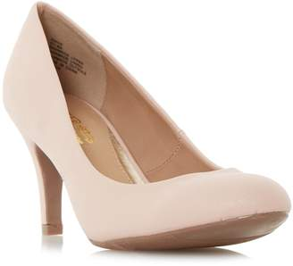Head Over Heels ANNIE - Round Toe Mid Heel Court Shoe