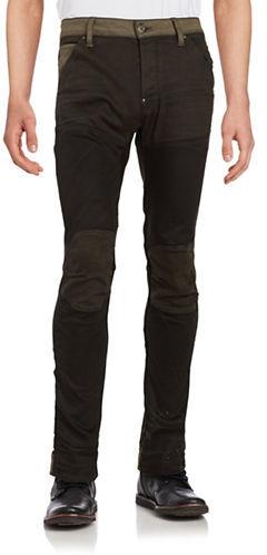 G StarG-Star Raw Three-Dimensional Slim-Fit Pants