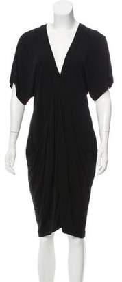 Haute Hippie Knee-Length Plunge Dress