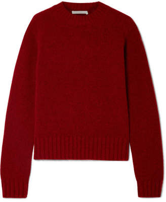 Helmut Lang Knitted Sweater - Red