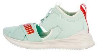 FENTY PUMA by Rihanna Logo High-Top Sneakers