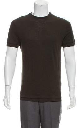 Neil Barrett Double-Layered Knit T-Shirt
