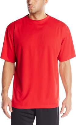 Russell Athletic Men's Big-Tall Dri-Power Short Sleeve Crew, Cardinal/Red