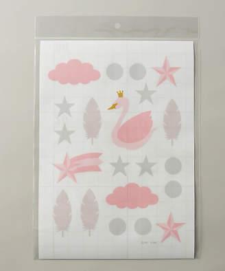 Ami [Haus gida SUMA]ウォールステッカー FEATHER PINK (SWS-6)