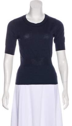 Rochas Wool Short Sleeve Top