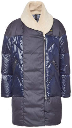 Blauer Impermeable Down Coat