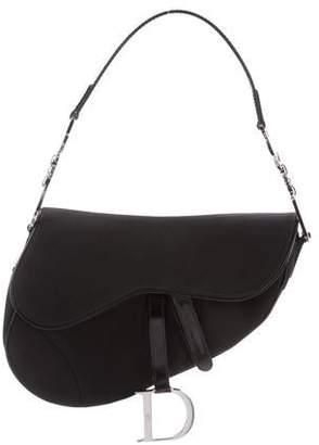Christian Dior Nylon Saddle Bag