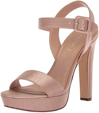 Madden-Girl Women's ROLLOO Heeled Sandal