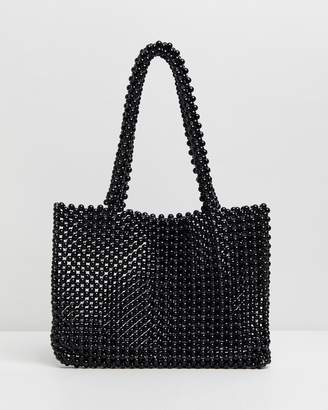 Missguided Beaded Bag