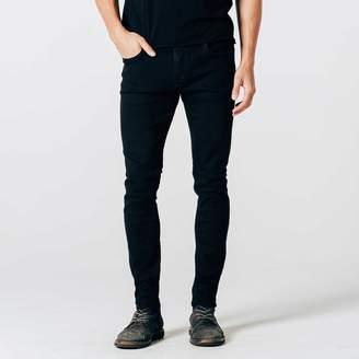 DSTLD Skinny Jeans in Stretch Jet Black