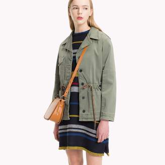 Tommy Hilfiger Garment-Dyed Military Jacket