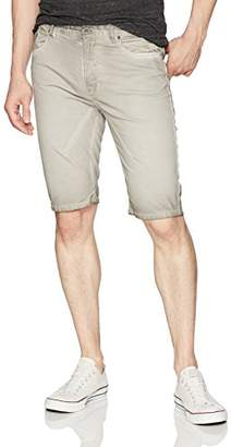 "Jet Lag Men's Cold Wash 12"" Flat Front Woven Short"