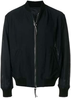 Giorgio Armani fully zipped bomber jacket