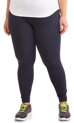 "Athletic Works Women's Plus Size Dri More 28"" Ankle Legging"