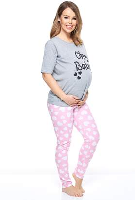 bc3c75cb1b9 Next Womens Want That Trend Maternity Oh Baby Pyjama Set
