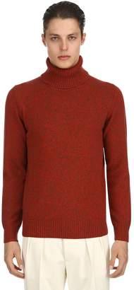 Lardini Virgin Wool Turtleneck Sweater