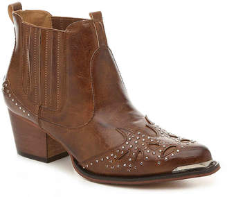 Wanted Studded Western Bootie - Women's