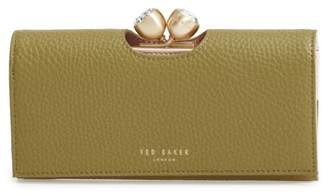 Ted Baker Pebbled Leather Matinee Wallet