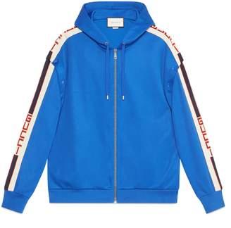 Gucci Technical jersey sweatshirt