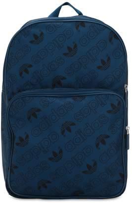 adidas Logo Print Nylon Backpack