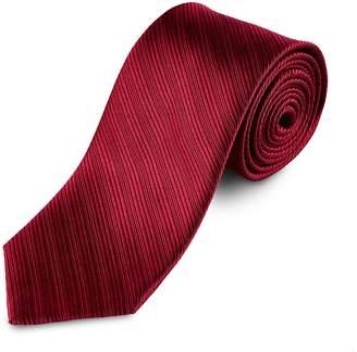 Lantier Designs Men's Textured 100% Silk Necktie, 3'', Solid Color