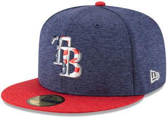 New Era Boys' Tampa Bay Rays Stars & Stripes 59FIFTY Cap