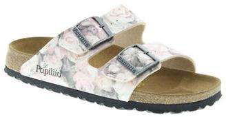 Birkenstock Arizona Floral Slide Sandals $99.95 thestylecure.com