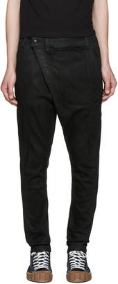 R13 Black X-Over Jeans $450 thestylecure.com