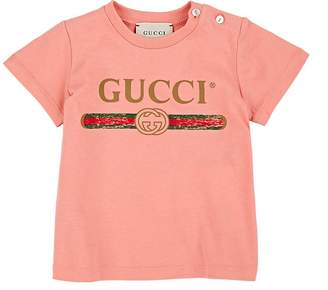 Gucci Infants' Logo-Print Cotton T-Shirt
