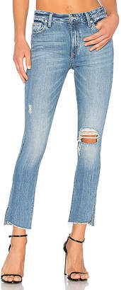 Lovers + Friends Lovers + Friends Logan High-Rise Tapered Jean $188 thestylecure.com