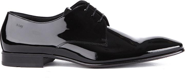 Hugo BossHugo Boss Cristallo chisel Derby shoes