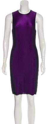 Alexander Wang Rib Knit Sleeveless Dress
