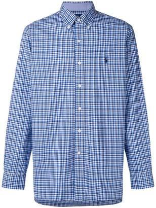 Polo Ralph Lauren button-down checked shirt