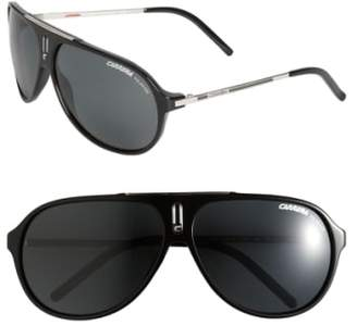 Carrera Eyewear 'Hots' 64mm Aviator Sunglasses