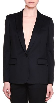 Stella McCartney Classic Tailored One-Button Suit Jacket, Black $1,295 thestylecure.com