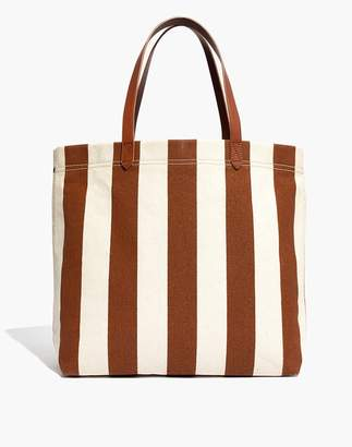 Madewell The Canvas Transport Tote in Stripe