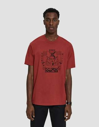 Obey S/S Free Your Mind Tee