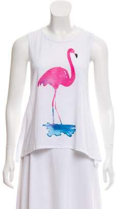 Chaser Flamingo Sleeveless Top w/ Tags