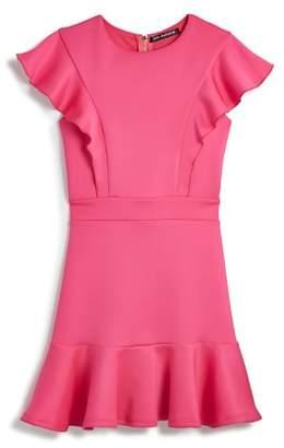 Jocelyn Miss Behave Girls' Ruffled Dress - Big Kid