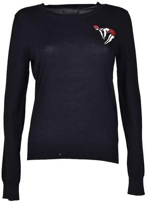 Markus Lupfer Sequin Mini Sweatshirt
