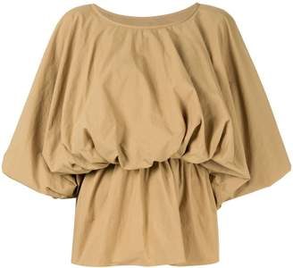 GOEN.J puff-sleeve blouse