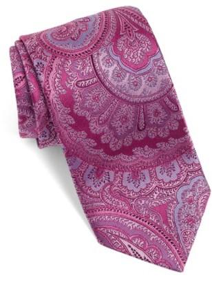 Men's David Donahue Paisley Silk Tie $115 thestylecure.com
