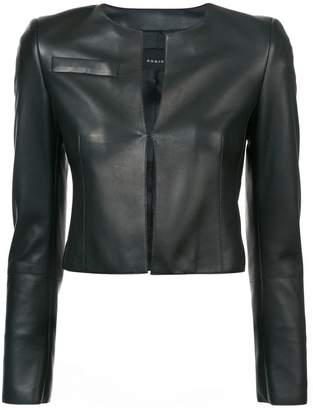 Akris cropped fitted jacket