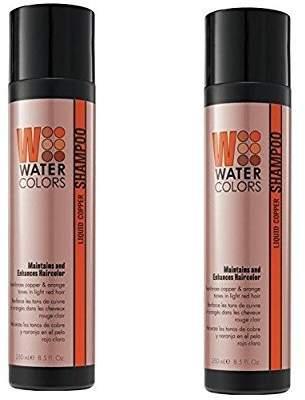 Tressa Color Maintance Watercolors Shampoo Liquid Copper 8.5 oz (Set of 2) by