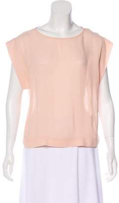 Tibi Short Sleeve Tops